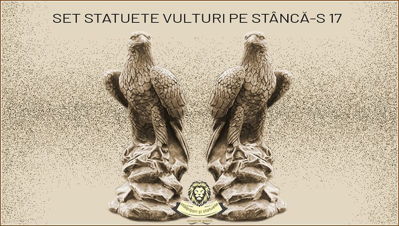 Statuete set vulturi model S17